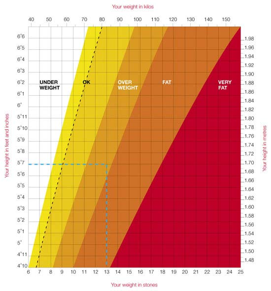 Height And Weight Charts
