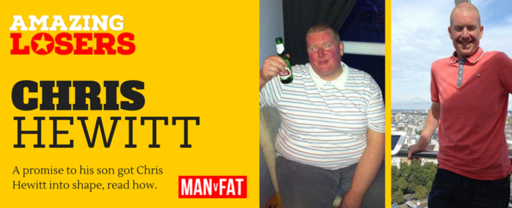 Amazing Loser: Chris Hewitt's Weight Loss Story