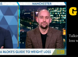 MAN v FAT Talks Male Weight Loss With Australian TV