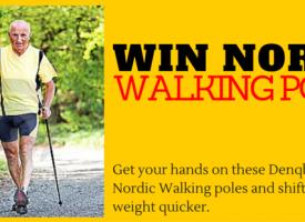 Win Nordic Walking Poles