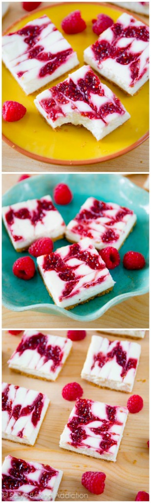 13. cheesecake bars