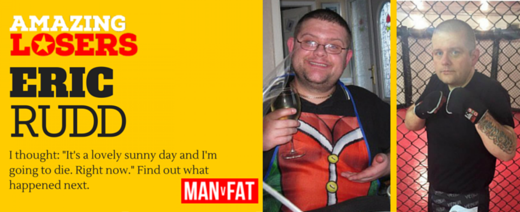 Weight Loss Transformation – Eric Rudd – Amazing Loser