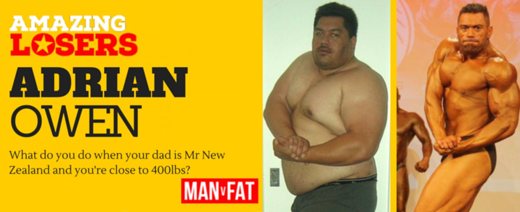 Weight Loss Transformation – Adrian Owen – Amazing Loser