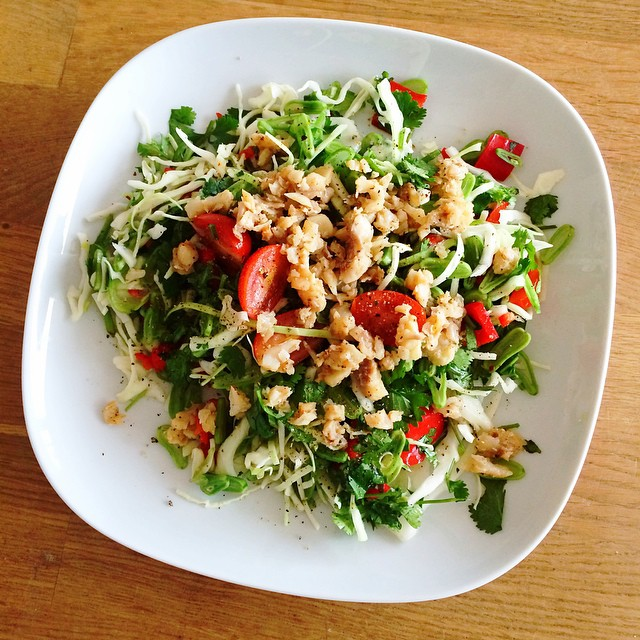 24. thai spicy salad