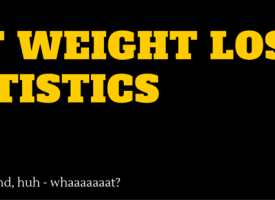 WTF Weight Loss Statistics