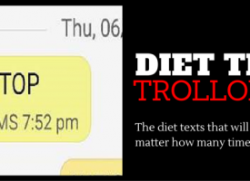 Comedian Trolls Friend With Diet Text Scam