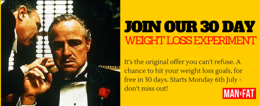 Join Our Free 30 Day Weight Loss Experiment