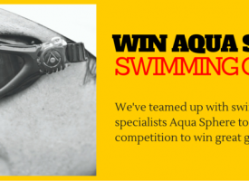 Win Amazing Aqua Sphere Swimming Gear