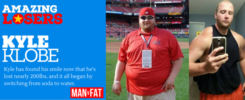 Kyle Uses WeightWatchers and Healthy Changes To Hit 200lbs Loss #AmazingLoser