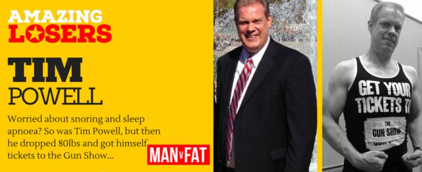 From Sleep Apnoea To Slim: Tim Powell's #AmazingLoser Story