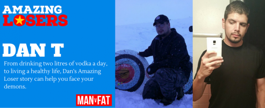 How To Beat Alcohol, Anxiety And Fat – Amazing Loser Dan T