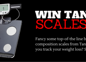 Win A State of the Art Tanita Body Composition Monitor Worth £200