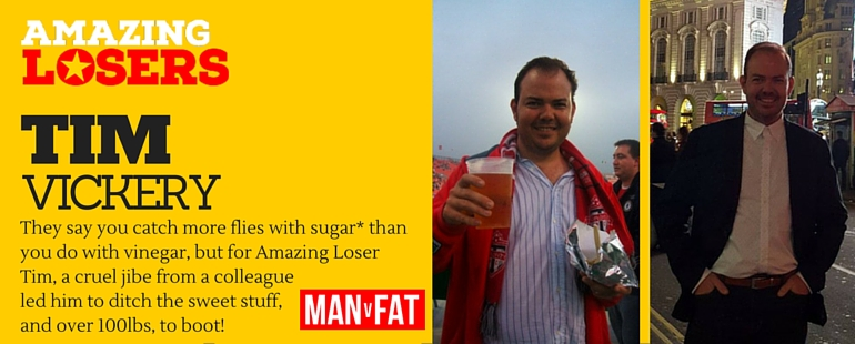Sweet Nothings - Amazing Loser Tim Vickery Kicks Sugar