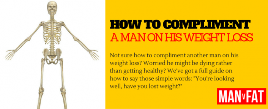 A Guide On How To Congratulate A Man On His Weight Loss