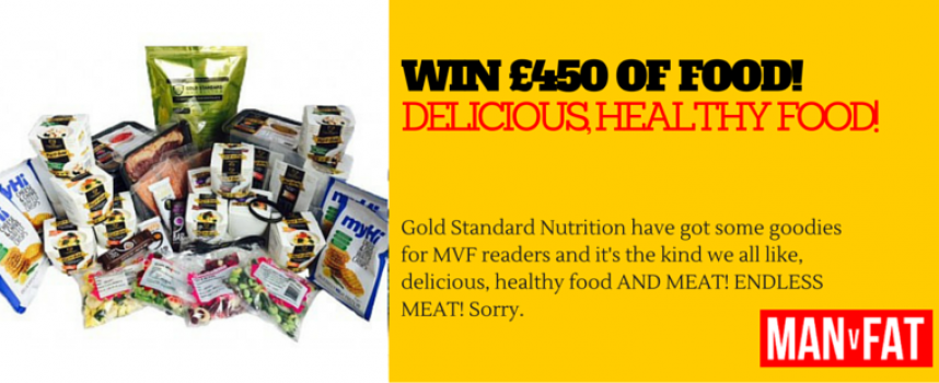 Win £450 of Healthy, Delicious Food And Lose Weight!