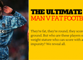 The Ultimate MAN V FAT Football Team