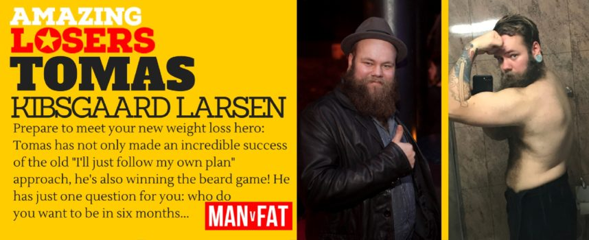 Who Do You Want To Be – Amazing Loser Tomas Kibsgaard Larsen