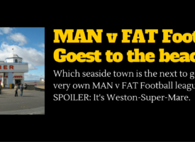 MAN v FAT Football Heads To Weston-Super-Mare