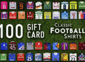 WIN! £100 to spend on classic football shirts