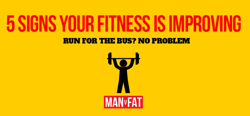 5 signs your fitness is improving