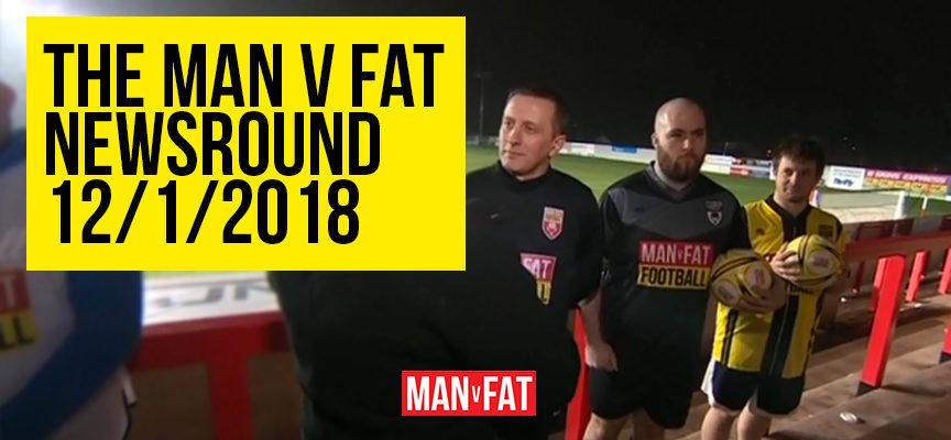 MAN v FAT Newsround 12/1/2018: Taking over the airwaves