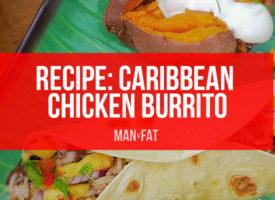 RECIPE: Caribbeanchicken burrito with pineapple salsa
