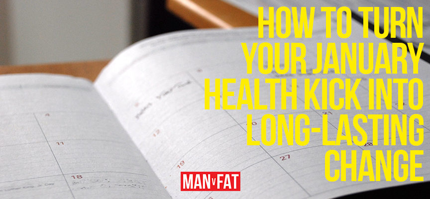 How to turn your January health kick into a long-lasting change
