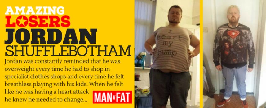 Putting down the fork: Amazing Loser Jordan Shufflebotham
