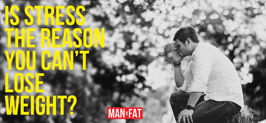 Is stress the reason you can't lose weight?