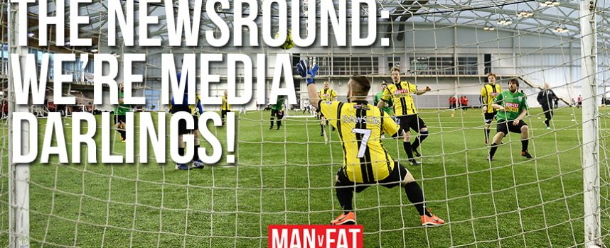 MAN v FAT Newsround 23/2/2018: Media darlings