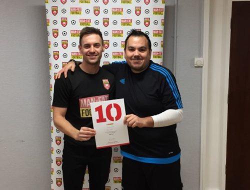 MAN v FAT Football Luton - Victor Childs