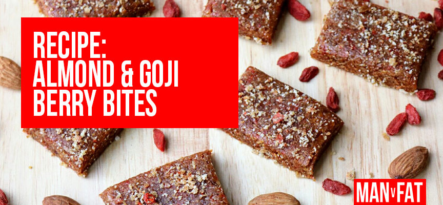 Recipe: Almond and goji berry bites