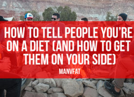 How to tell people you're on a diet (and how to get them on your side)