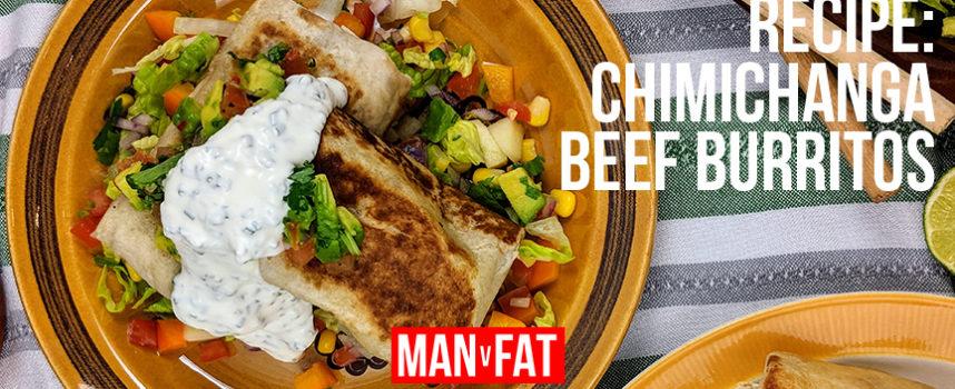 Recipe: Chimichanga beef burritos