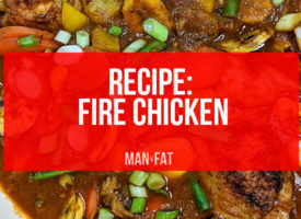 Recipe: Fire chicken