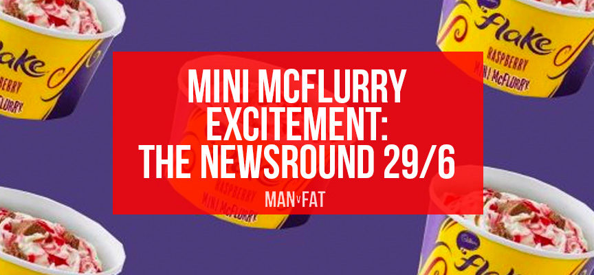 Mini McFlurry excitement | MAN v FAT Newsround 29/6/2018