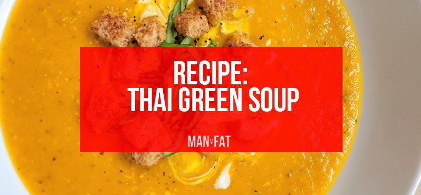 Recipe: Thai green soup