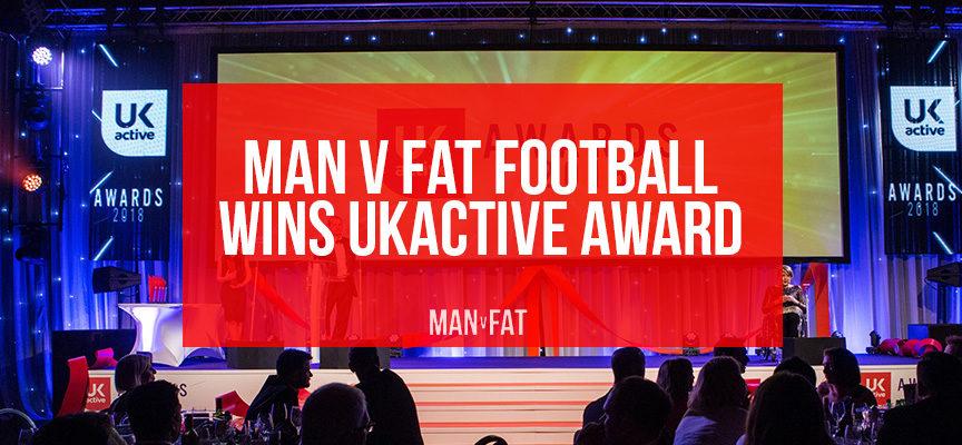 MAN v FAT Football wins ukactive award