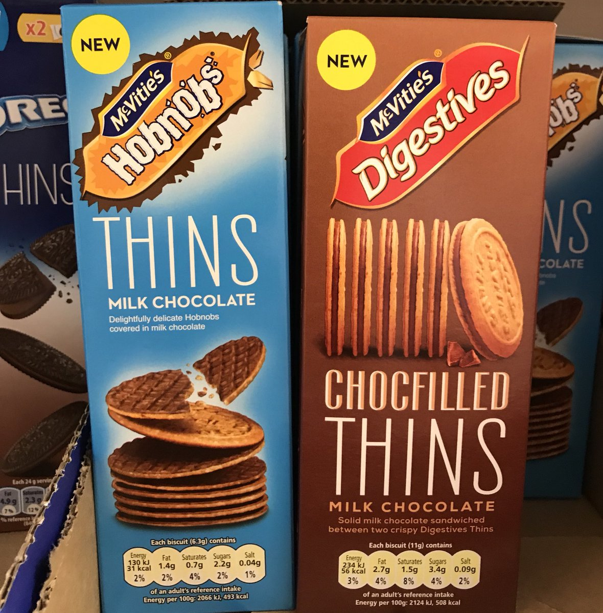 Thin Hobnobs Are Here And Theyre 31 Calories Each Man V Fat
