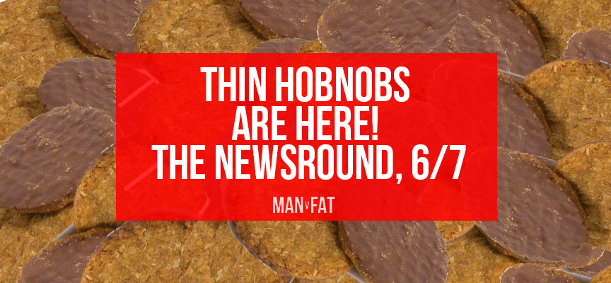 Thin Hobnobs are here and they're 31 calories each!