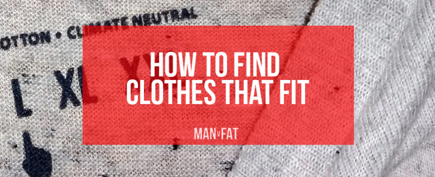 How to find men's clothes that fit