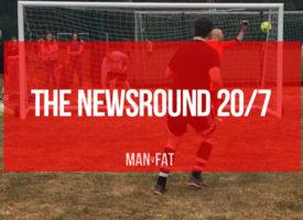 The MAN v FAT Football Good Guys: Newsround 20/7