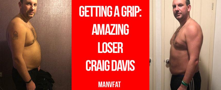 Getting a grip – Amazing Loser Craig Davis