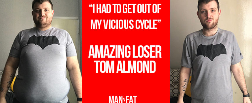 """""""I had to get out of my vicious cycle"""" – Amazing Loser Tom Almond"""