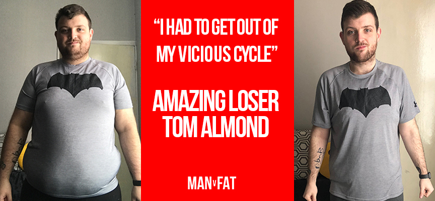 """I had to get out of my vicious cycle"" - Amazing Loser Tom Almond"