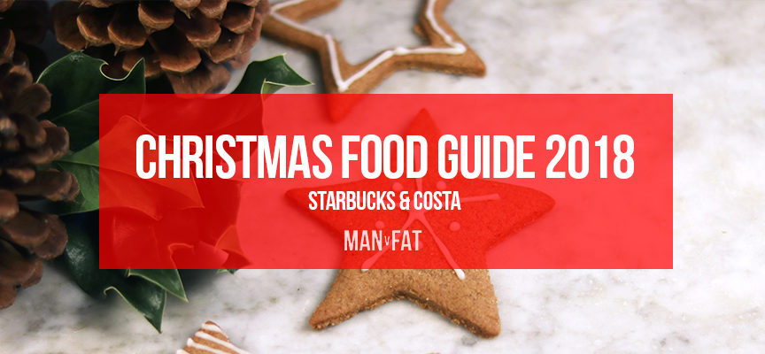 How many calories in Starbucks and Costa Christmas food?