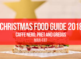 How many calories in Caffe Nero and Pret Christmas food?