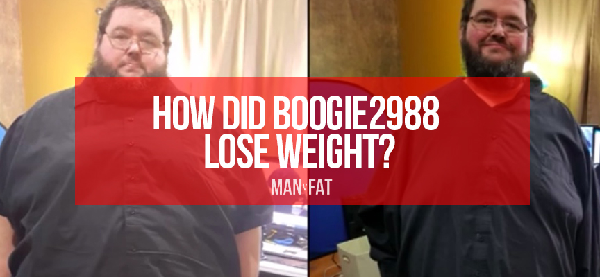 How did Boogie2988 lose weight?
