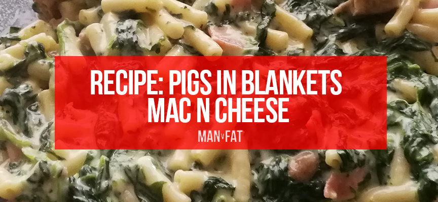 Recipe: Pigs in blankets mac n cheese