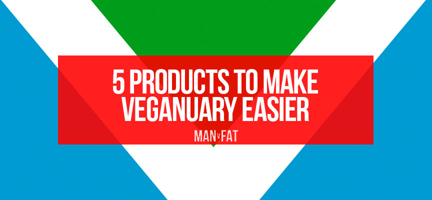 5 products to make Veganuary easier
